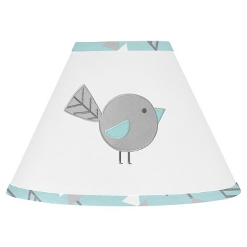 Sweet Jojo Designs Earth and Sky Lamp Shade - Turquoise
