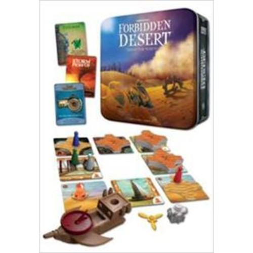 Gamewright 415 Forbidden Desert - Board Game