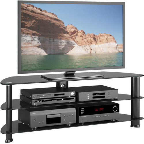 CorLiving - Laguna TV Stand for Most Flat-Panel TVs up to 60