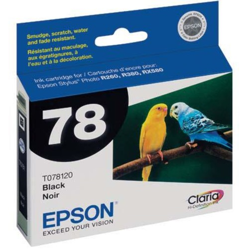Epson T078120 Black Cartridge for R380, R260 / RX580 T078120