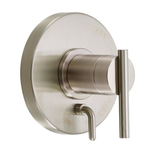 Danze D500458BNT Parma Single Handle Valve and Trim Tub and Shower Faucet in Brushed Nickel
