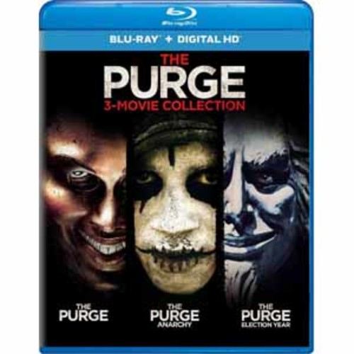 The Purge: 3-Movie Collection [Blu-Ray] [Digital HD]