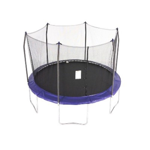 Skywalker Trampolines 12 foot Round Trampoline and Enclosure - Blue
