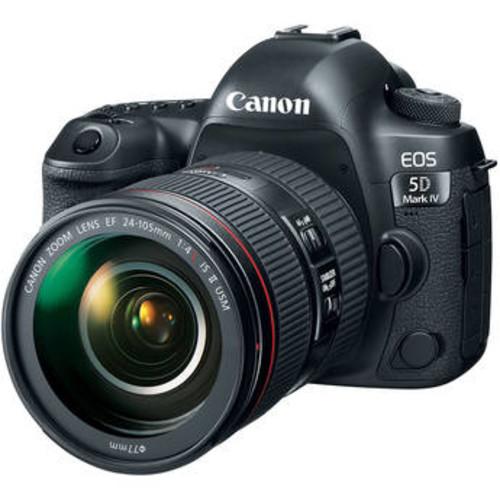 EOS 5D Mark IV DSLR Camera with 24-105mm Lens and Inkjet Printer Kit