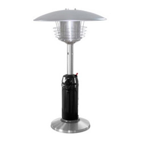 AZ Patio Heater Portable Black and Stainless Steel Tabletop Heater