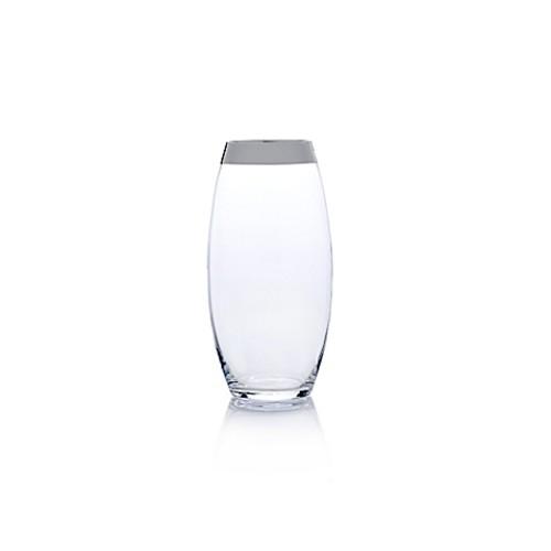 Mikasa Serenity Platinum 14-Inch Vase