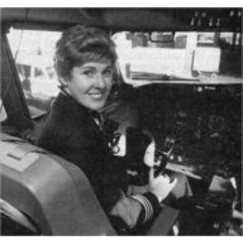 Captain Emily Warner - First Female Pilot Hired by a U.S. Scheduled Airline