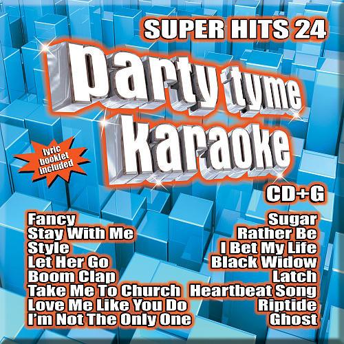 Party Tyme Karaoke: Super Hits, Vol. 24 [CD + G]