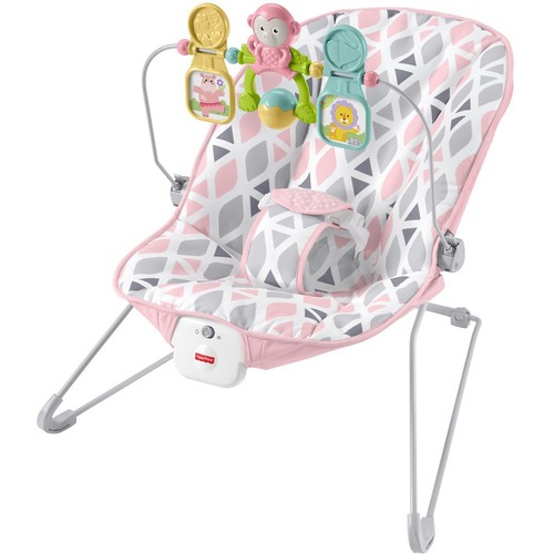 Fisher-Price Comfort Curve Bouncer in Floral Confetti