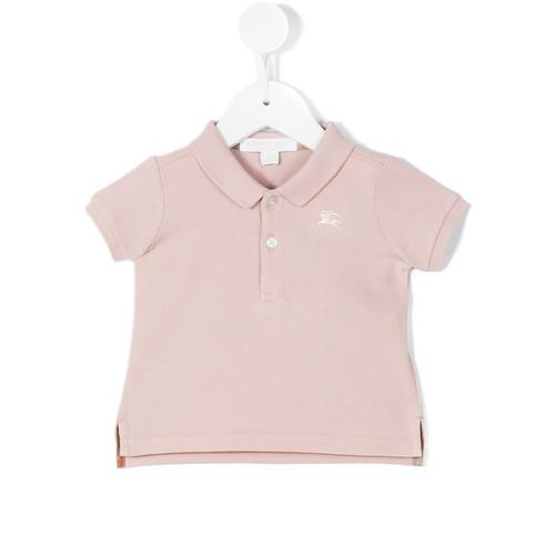 slit sides polo shirt