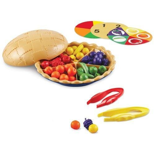 Learning Resources Super Sorting Pie Multi-Colored
