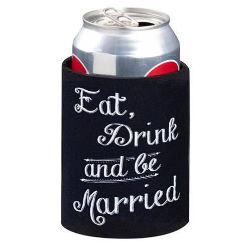 Lillian Rose WF562 Eat, Drink and Be Married Cup Cozy