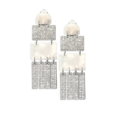 Confetti Crystal Skyscraper Earrings