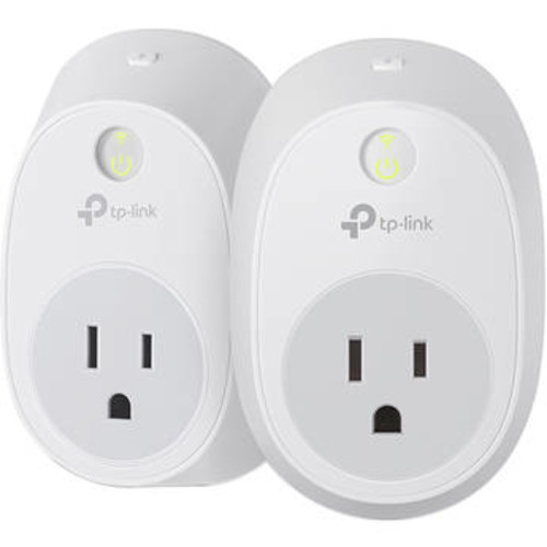 HS100 Wi-Fi Smart Plug Kit (2-Pack)