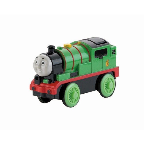 Fisher-Price Thomas & Friends Wooden Railway Train, Percy - Battery Operated Train
