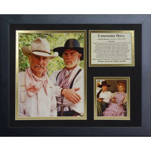 Legends Never Die Lonesome Dove Framed Memorabilia