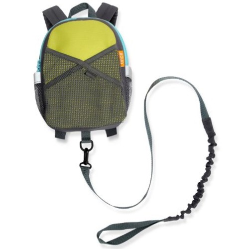 Brica By-My-Side Safety Harness Backpack in Green
