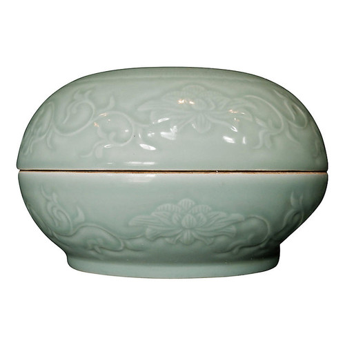 ethnika home decor and antiques Celadon Box