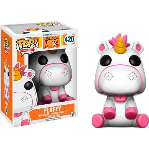 Funko - POP! Movies: Despicable Me 3 - Fluffy