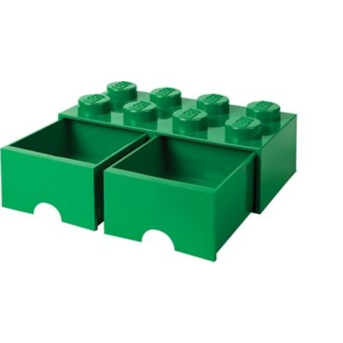 LEGO Storage Brick Drawer 8 Dark Green