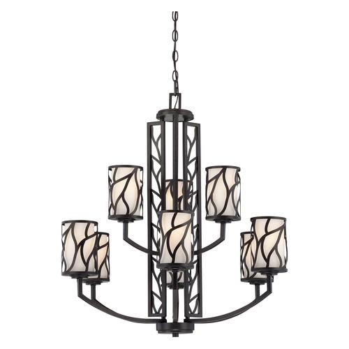 Designers Fountain 83789 Modesto 9 Light Chandelier in Artisan Finish