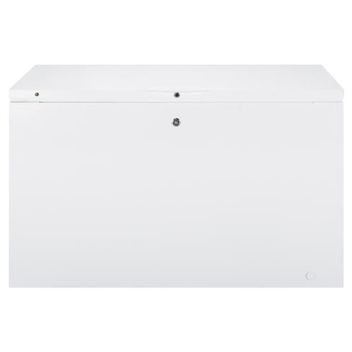 GE 56 in. 15.6 cu. ft. Manual Defrost Chest Freezer in White