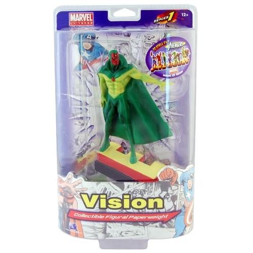Marvel Avengers Vision Letter Figure