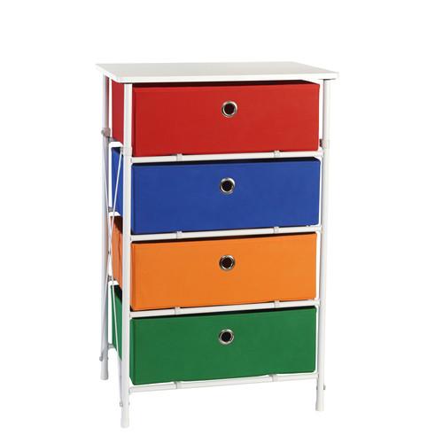Sort & Store - Kids 4-Bin Organizer - Boys