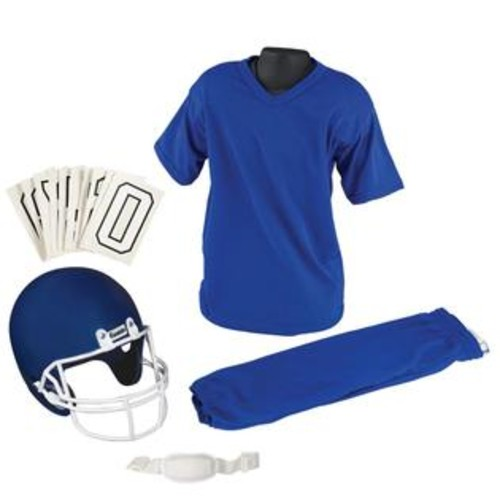 Franklin Sports NFL Medium Blue Uniform Set