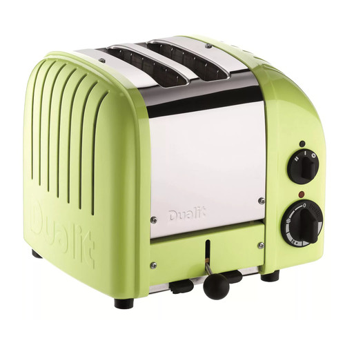 Dualit 2 Slice Classic Toaster, Lime Green [Lime Green, 2-Slice]