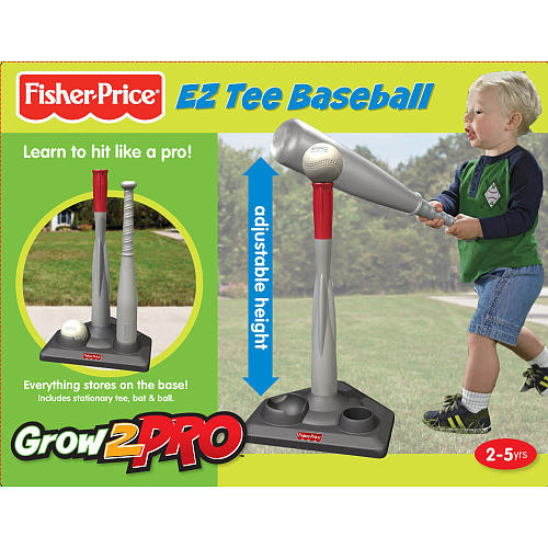 Fisher-Price Grow to Pro 2-in-1 Tee Ball