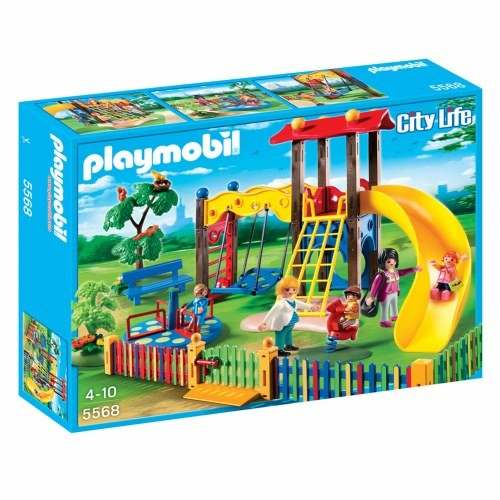 Playmobil City Life Children's Playground [Configuration :]