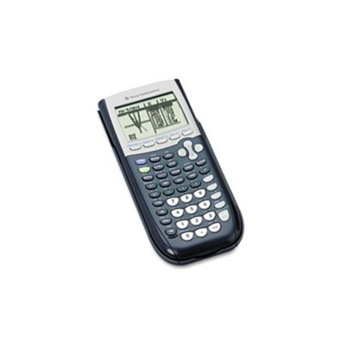 Texas Instruments TI-84 Plus Graphics Calculator, Black [Black, Standard]