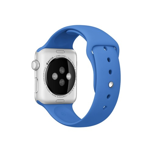 Apple - Sport Band for Apple Watch 42mm - Royal Blue