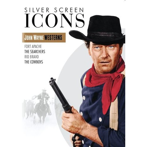 Silver Screen Icons: John Wayne Westerns [4 Discs] [DVD]