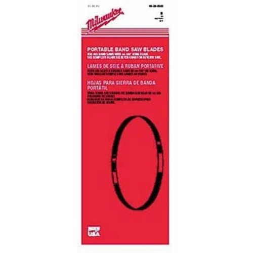 Milwaukee Band Saw Replacement Blade  Bi-Metal, 18 TPI, Model# 48-39-0520