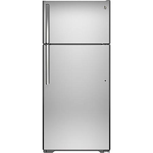 GE Autofill Pitcher 17.5-cu ft Top-Freezer Refrigerator