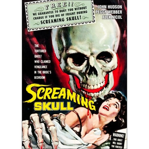 The Screaming Skull [DVD] [1958]