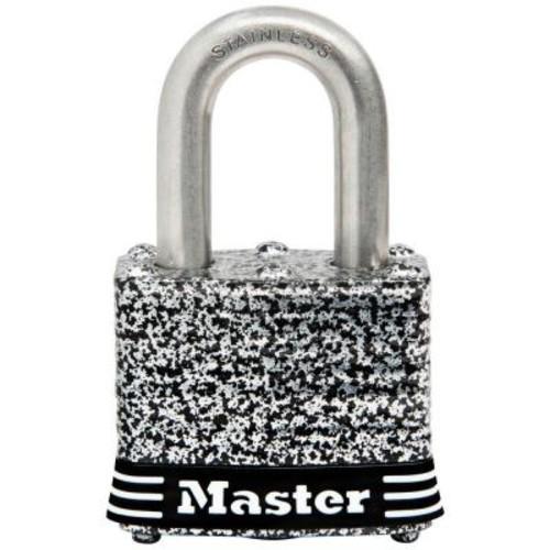Master Lock 1-9/16 in. Laminated Stainless Steel Keyed Padlock