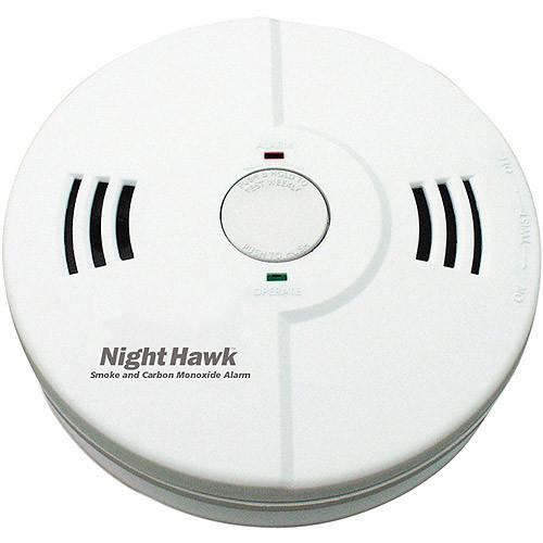 Kidde KN-COSMXTR-BA Nighthawk Combination Carbon Monoxide and Smoke Intelligent Alarm