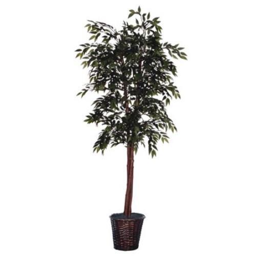 Vickerman Cedar with Cones Executive Smilax Tree in Basket