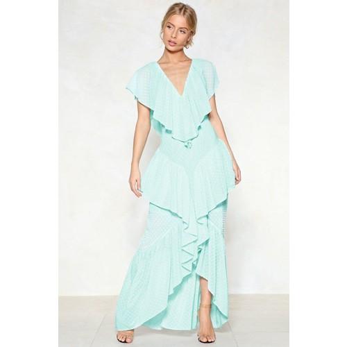 Fall into Place Maxi Dress