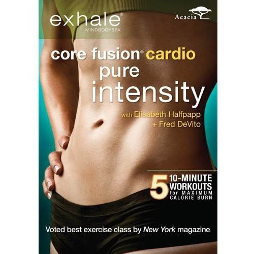 Exhale: Core Fusion Cardio Pure Intensity [DVD]