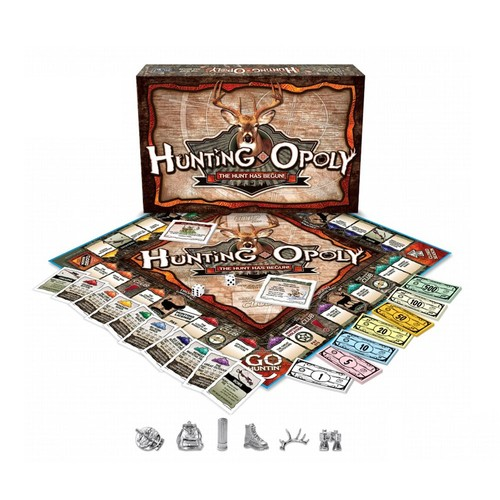 e For The Sky Hunting-opoly Board Game