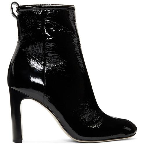Black Patent Ellis Boots
