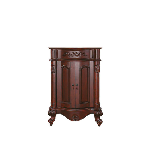 Avanity Provence Antique Cherry Finish 24-inch Vanity Only