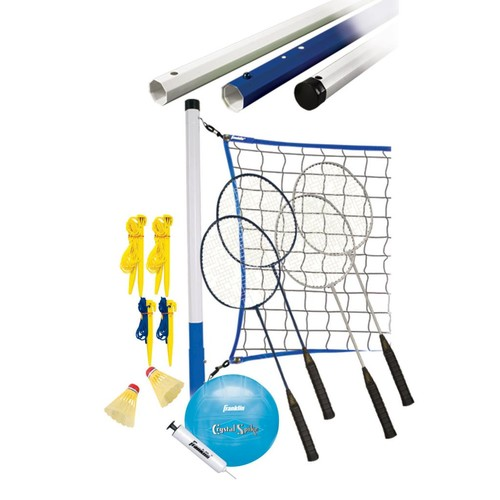 Franklin Sports Recreational Badminton & Volleyball Set