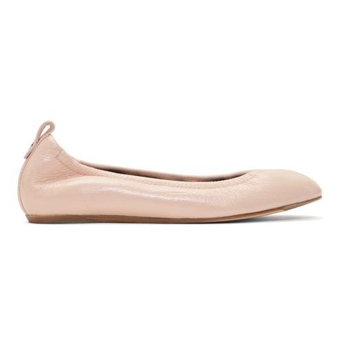 LANVIN Pink Ballerina Flats