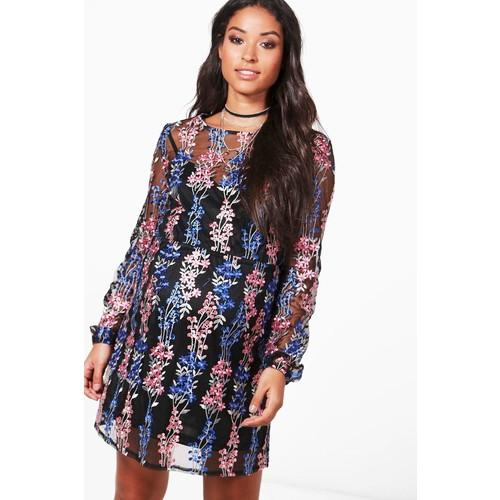 Maternity Boutique Faye Sheer Mini Dress