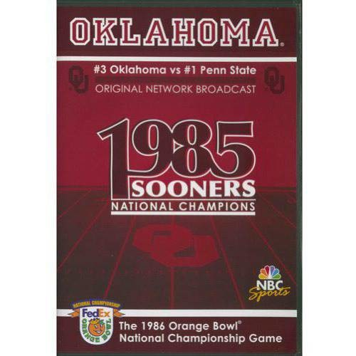 1987 Orange Bowl National Championship Game DVD